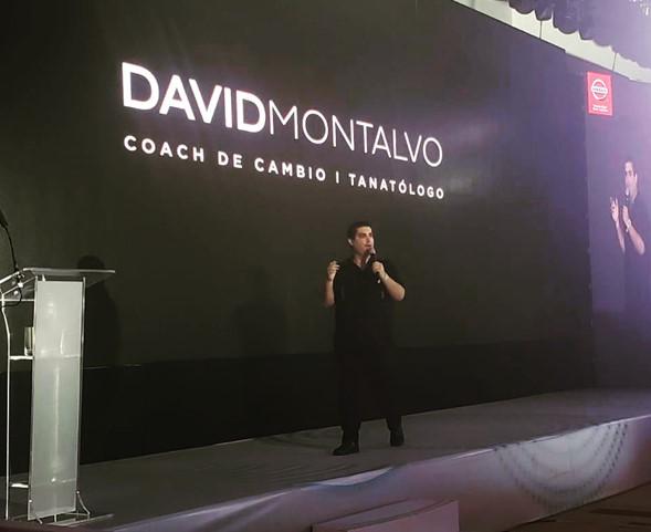 David Montalvo Tanatologo Lifecoach