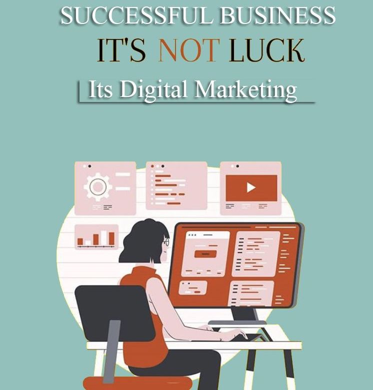Image from Pinterest: Digital Marketing for Business