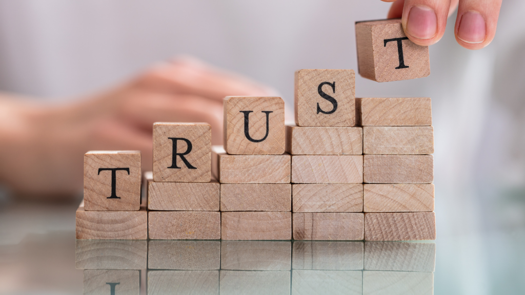 Trust is most important for every brand.