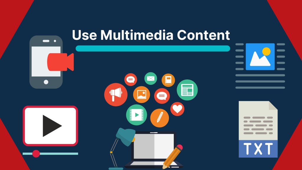 Use multimedia content