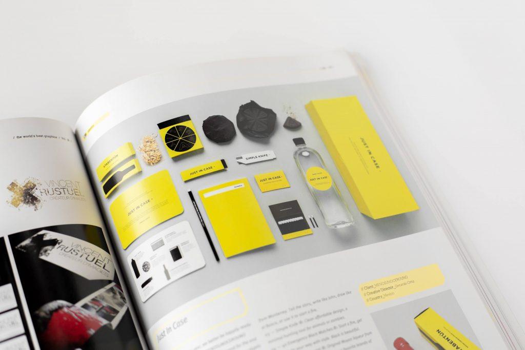 Branding magazine.