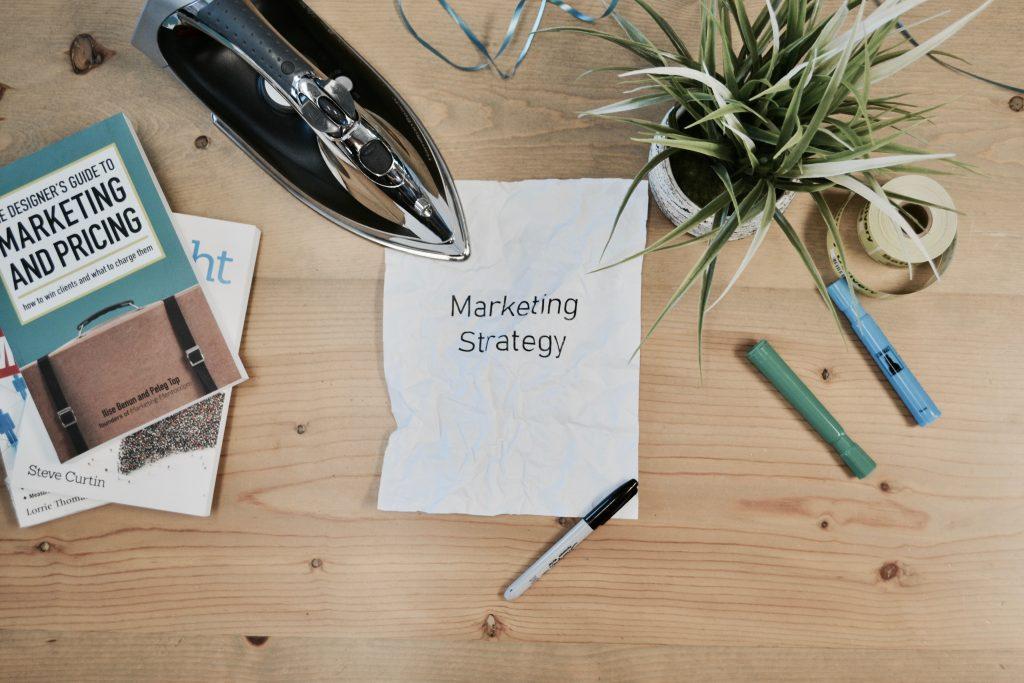Digital marketing strategy paper.