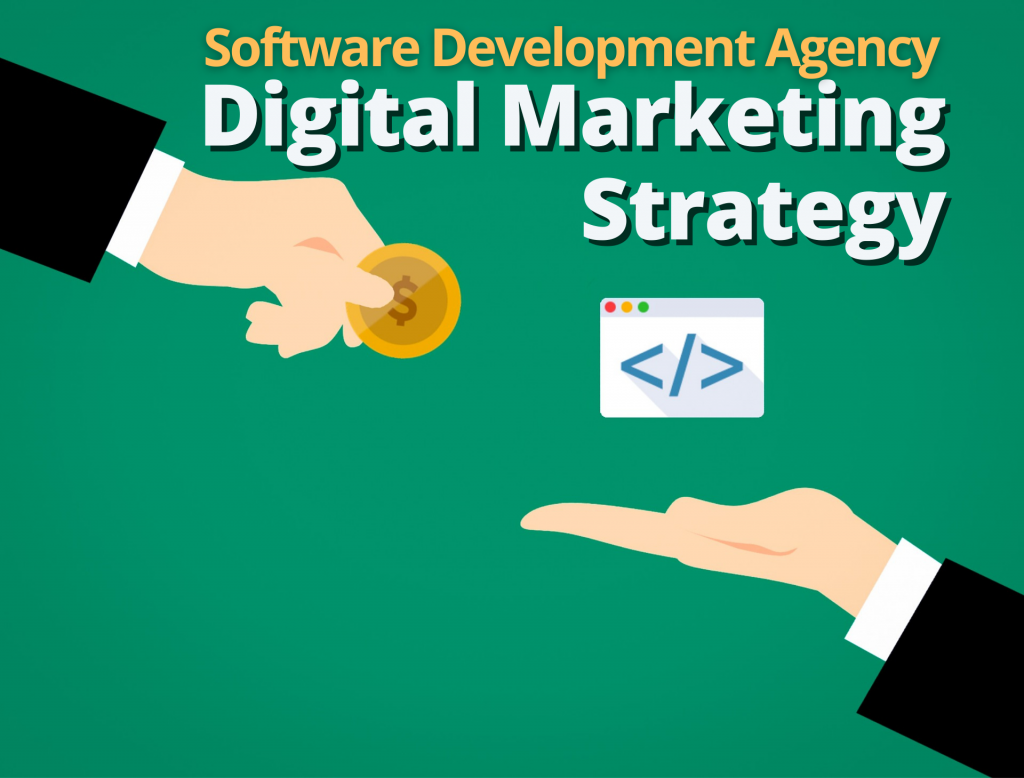Software Development Agency Digital Marketing Strategy header image