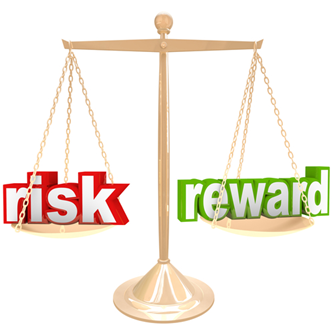 risk, reward, profit, loss, uncertainty, external circumstances