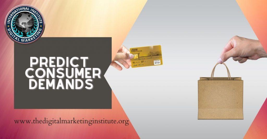 Digital marketing for different consumer demand