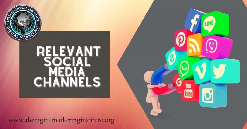 Digital marketing for social media channels