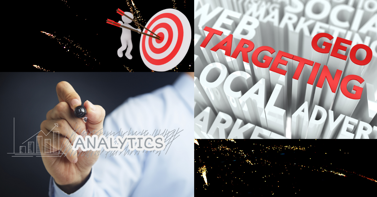 Geotargeting, geographical locations, specific regions, localized advertisement, google analytics