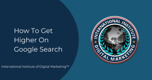 How To Get Higher on Google Search