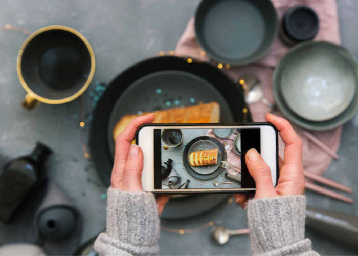 content, photography, food, instagrame post, instagram food page? instagram business.