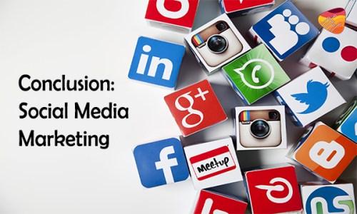 conclusion of social media, digital marketing