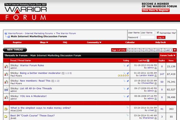 blog forum, digital marketing