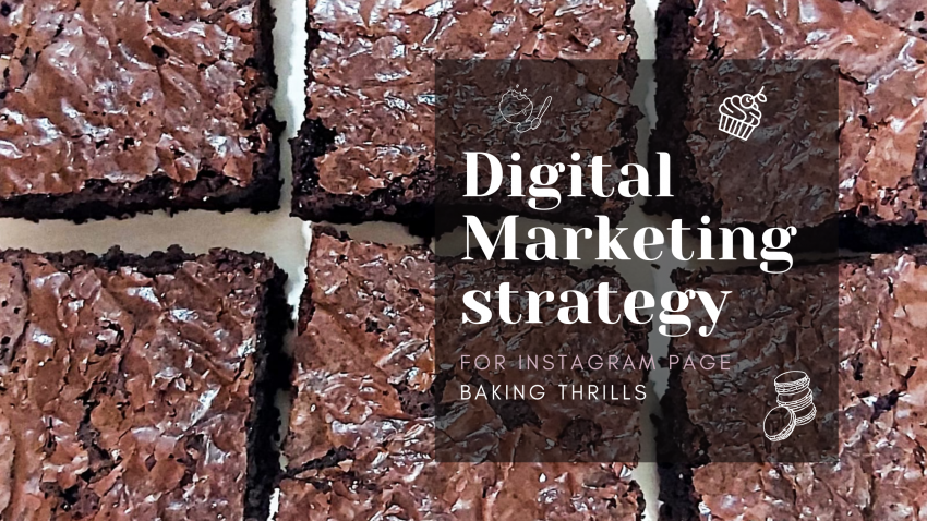 digital marketing strategy for instagram baking page