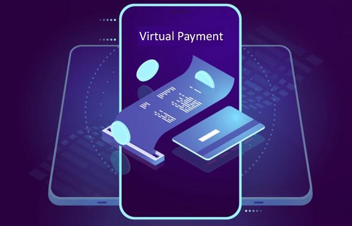 Ecommerce Virtual payment, digital marketing