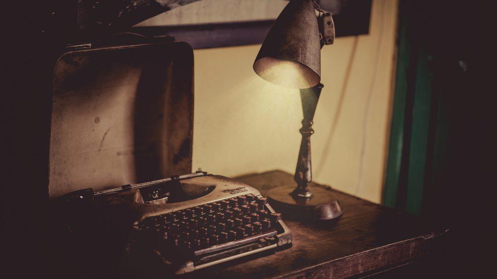 old typewritrer