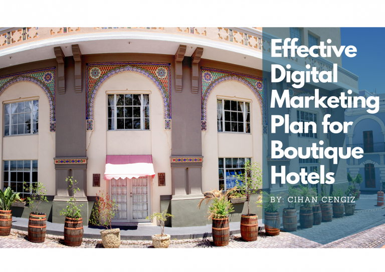 Digital MArketing Plan for Boutique Hotels