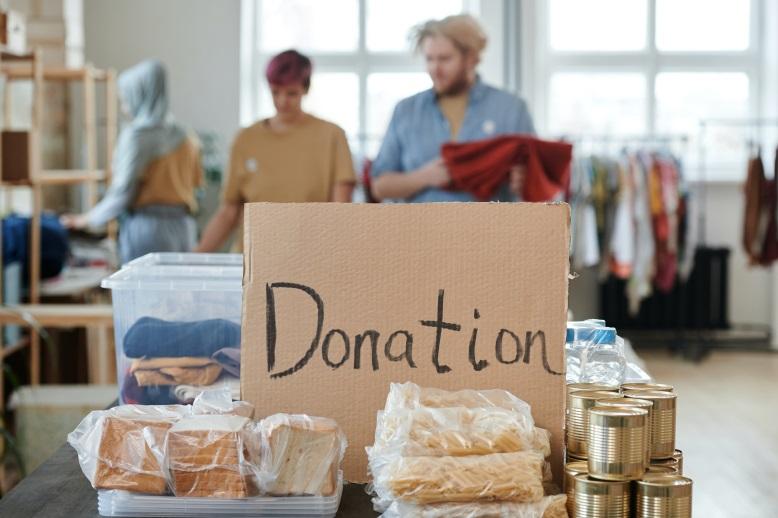 non-profit organisation, donation