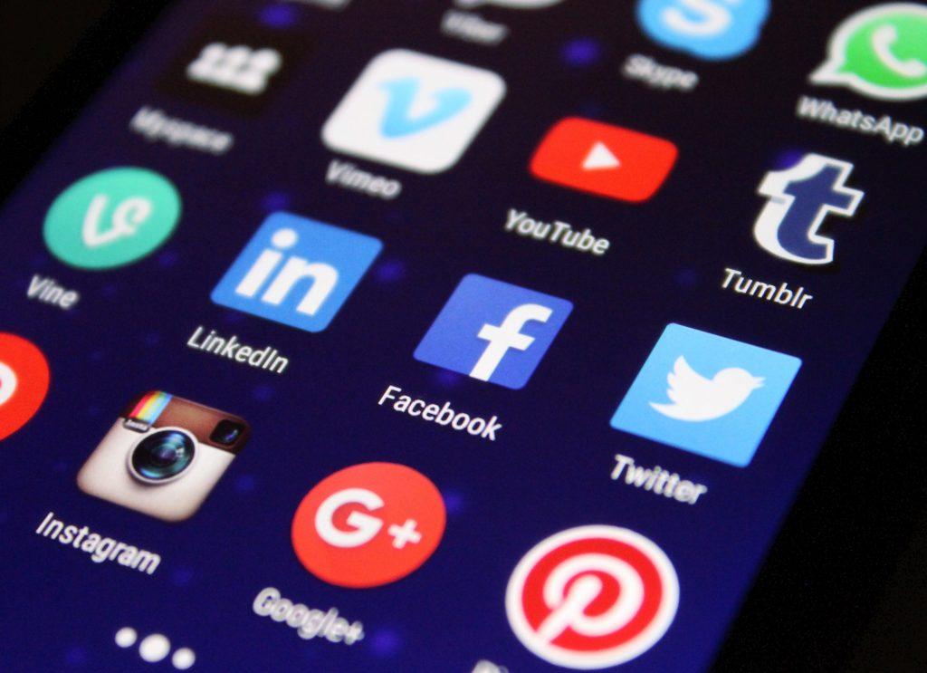Digital marketing, social media, Facebook, Twitter, Linkedin, Instagram, Youtube