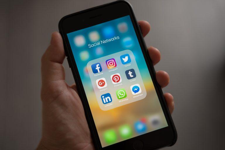 Social media marketing power.