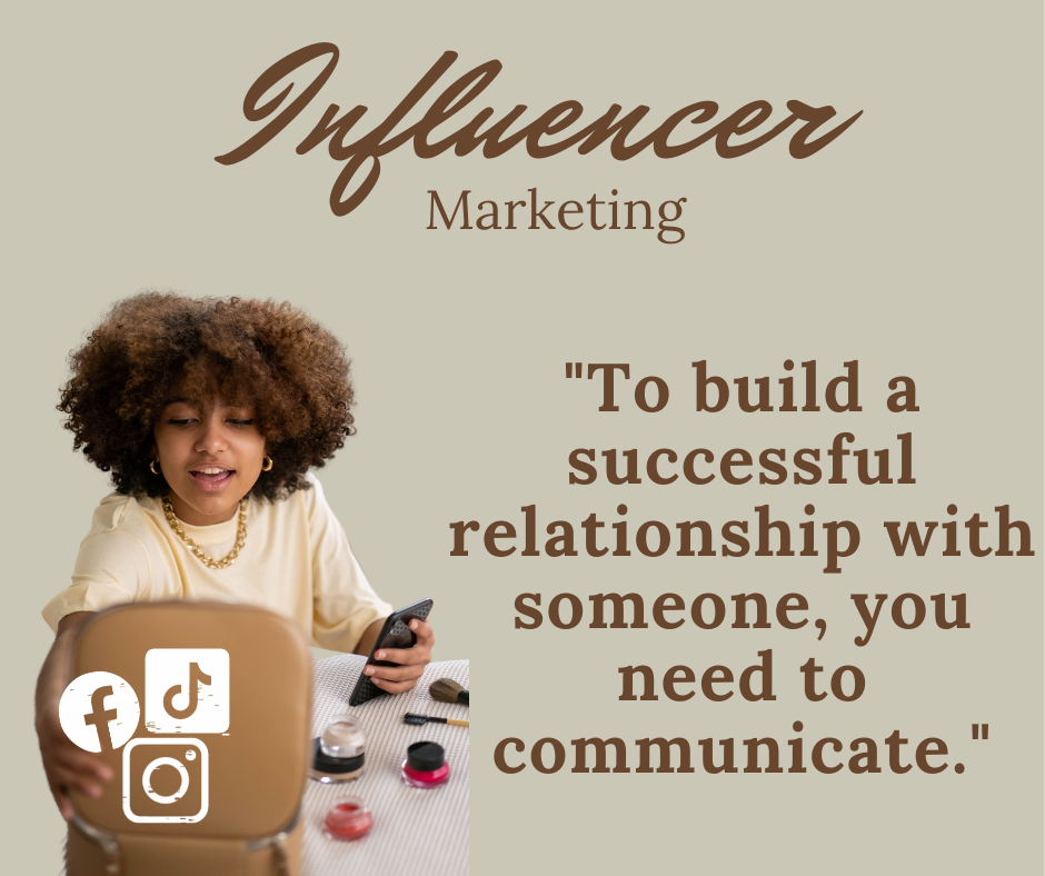 Influencer, Digital Marketing, Communication