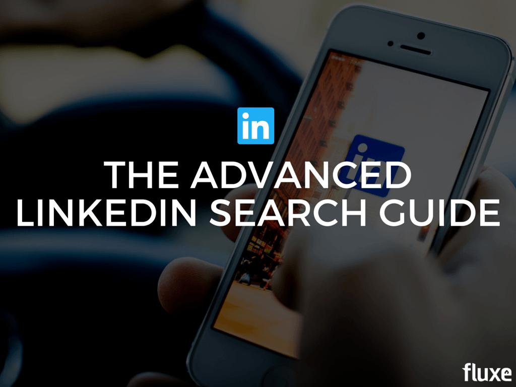LinkedIn Search Guide