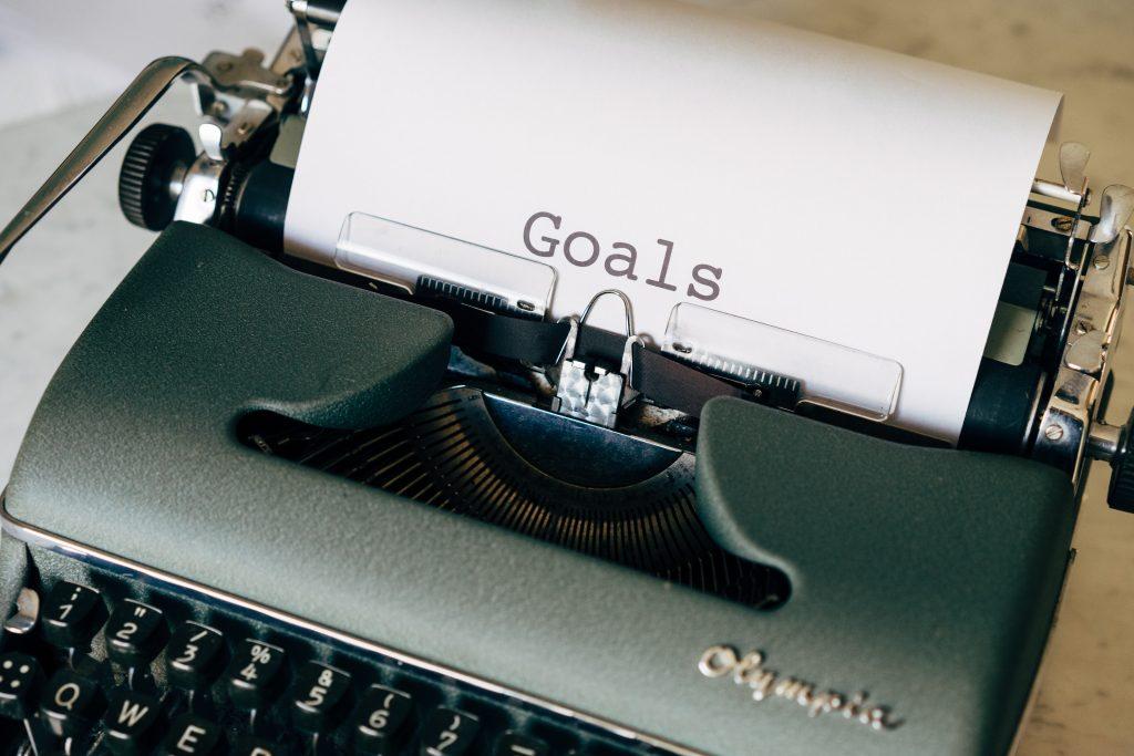 Set long term and short term goals
