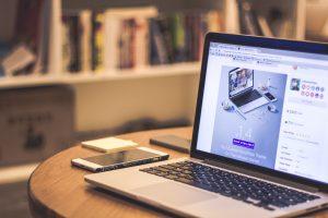 digital marketing, promoting, freelance, laptop, Getting a website or online portfolio to showcase your work