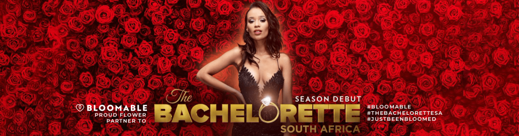 Bloomable Proud Flower Partner to The Bachelorette South Africa. #Bloomable #TheBacheloretteSA #Justbeenbloomed